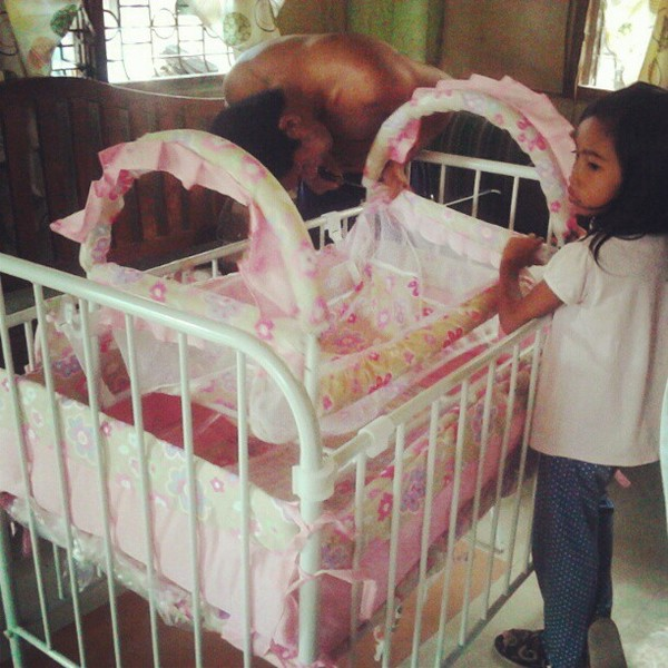 assembling the princess crib