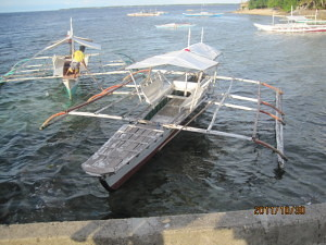 motorized boat to cabilao island