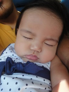 asleep, yet again, on the way to Isabel from Ormoc City