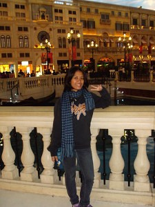 at the Venetian Macau