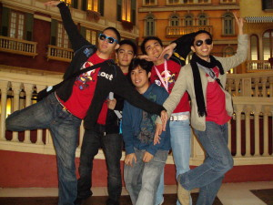 goofy friends at the Venetian Macau