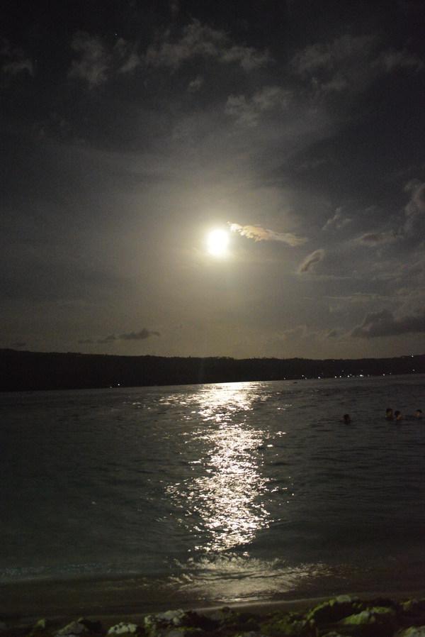 sunset at Talicud Island