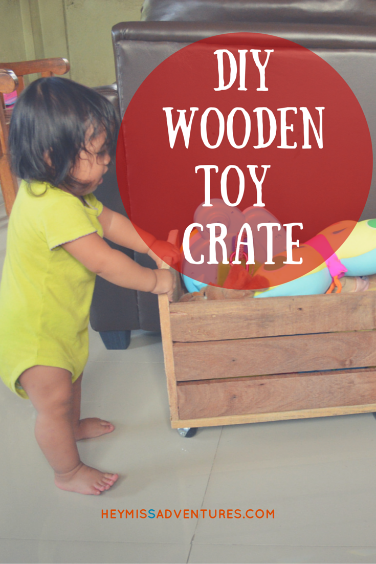 One DIY Afternoon, I Decided To Make A Toy Crate
