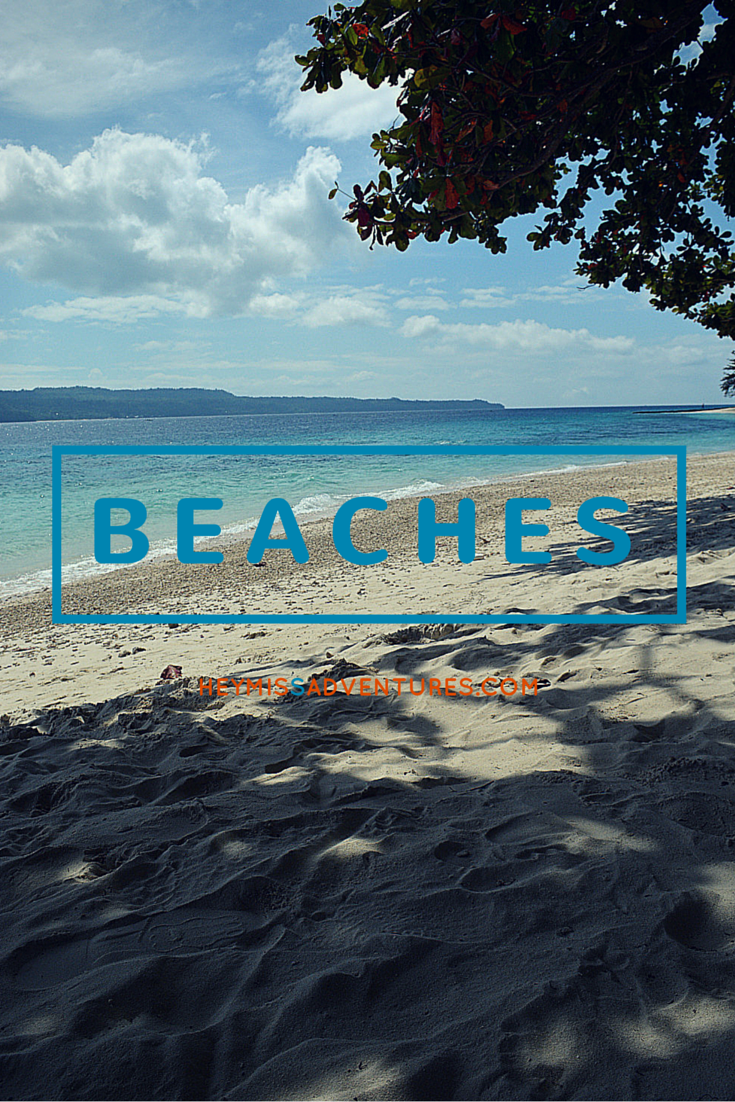 Beach Destinations | Hey, Miss Adventures!