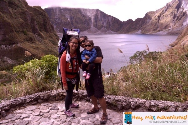Day Trekking with a Toddler at Mt. Pinatubo, Zambales, Philippines