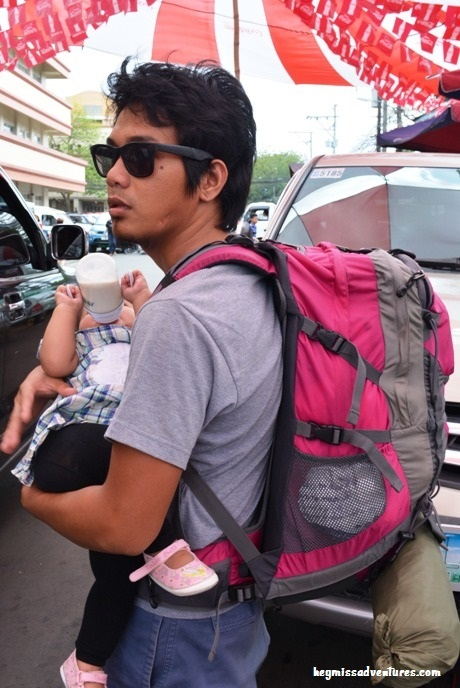 travelling with infants, backpacking with infants