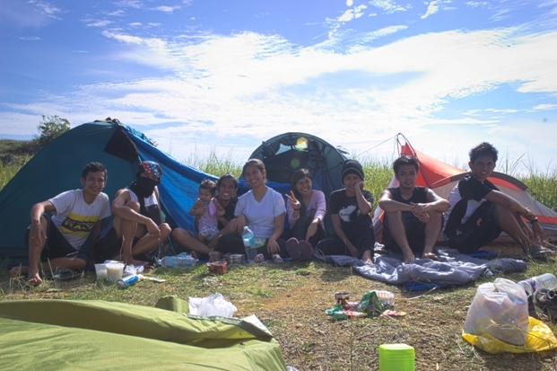 camping at sirao peak mt. kan-irag ayala heights cebu philippines