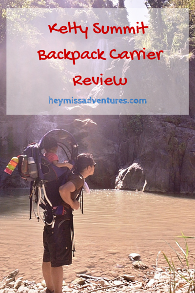 Review: Kelty Summit Backpack Carrier | Hey, Miss Adventures!