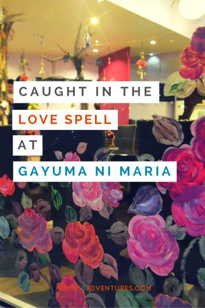 Get Caught in the Love Spell at Gayuma ni Maria Cebu