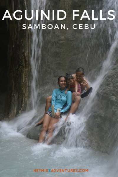 A Refreshing Dip at Aguinid Falls, Samboan, Cebu | Hey, Miss Adventures!