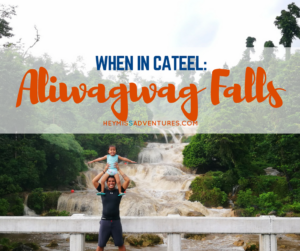 When in Cateel: A Rainy Day at Aliwagwag Falls