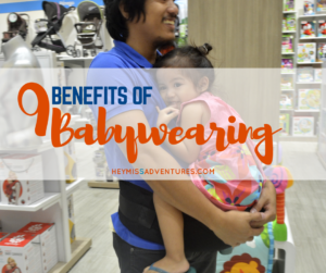 9 Benefits of Baby Wearing