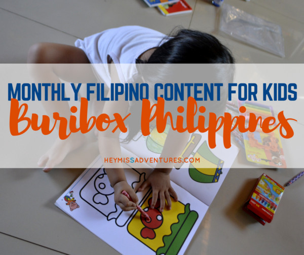 Buribox Philippines: Monthly Content for Filipino Kids | Hey, Miss Adventures!