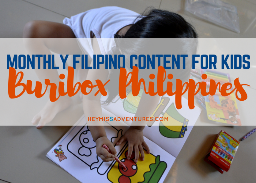 Buribox Philippines: Monthly Content for Filipino Kids