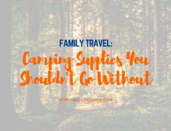 Camping Supplies You Shouldn't Go Without