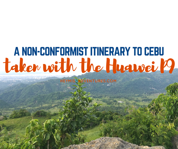 A Non-Conformist Itinerary to Cebu Taken with Huawei P9