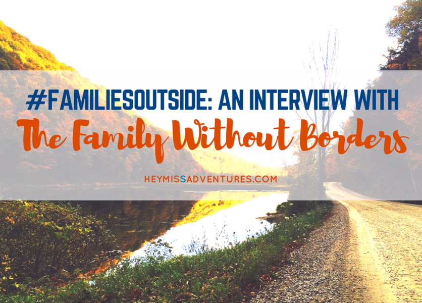 #FamiliesOutside: An Interview with The Family Without Borders