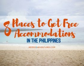 8 Places to Get Free Accommodations in the Philippines
