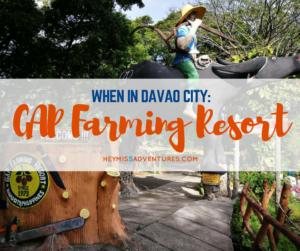 When in Davao City: GAP Farming Resort