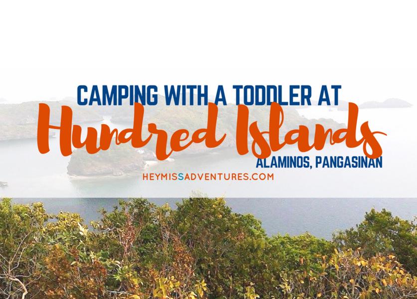 Overnight Camping at Hundred Islands, Alaminos City, Pangasinan