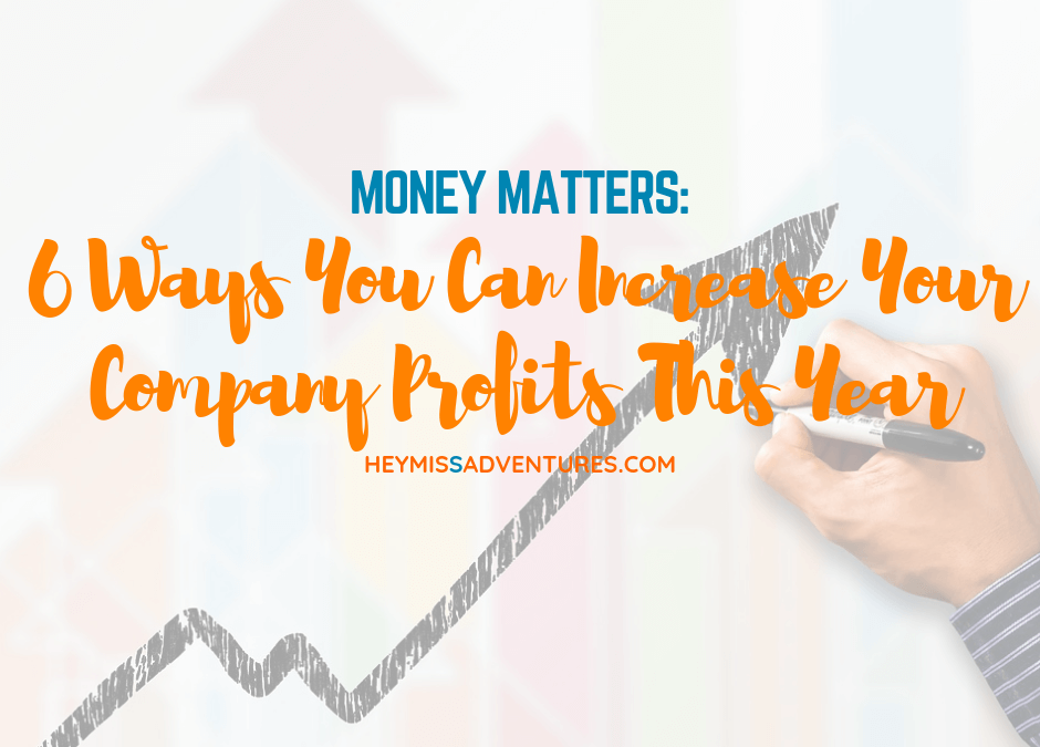 6 Ways You Can Increase Your Company Profits This Year