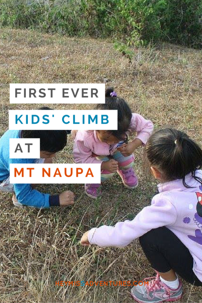 Guilty of letting your gadgets babysit the kids? Why not bring them outside? Take a look at the first ever kids' climb with Outpax at Mt. Naupa. More adventures to come, that's for sure! >> heymissadventures.com