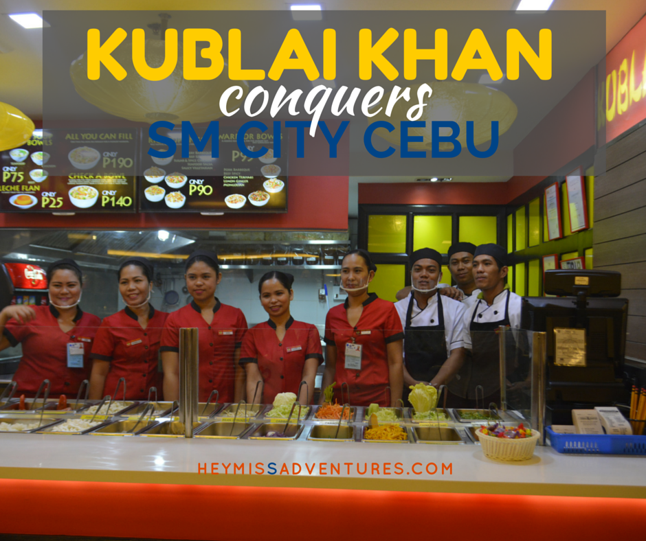Kublai Khan Conquers SM City Cebu Food Court