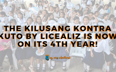 The Kilusang Kontra Kuto by Licealiz is Now on Its 4th Year!