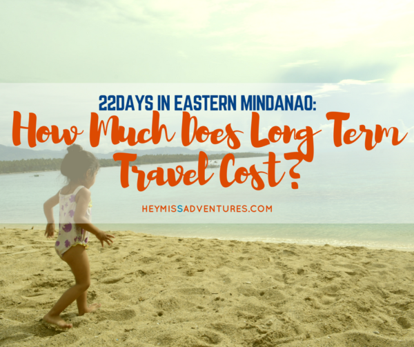 long term travel cost eastern mindanao