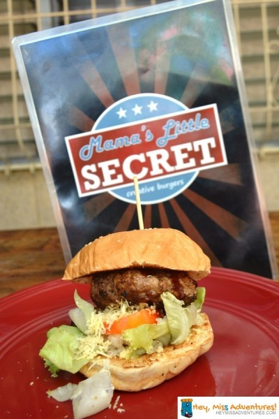 Mama's Little Secret Burger Joint in Cebu | Hey, Miss Adventures!