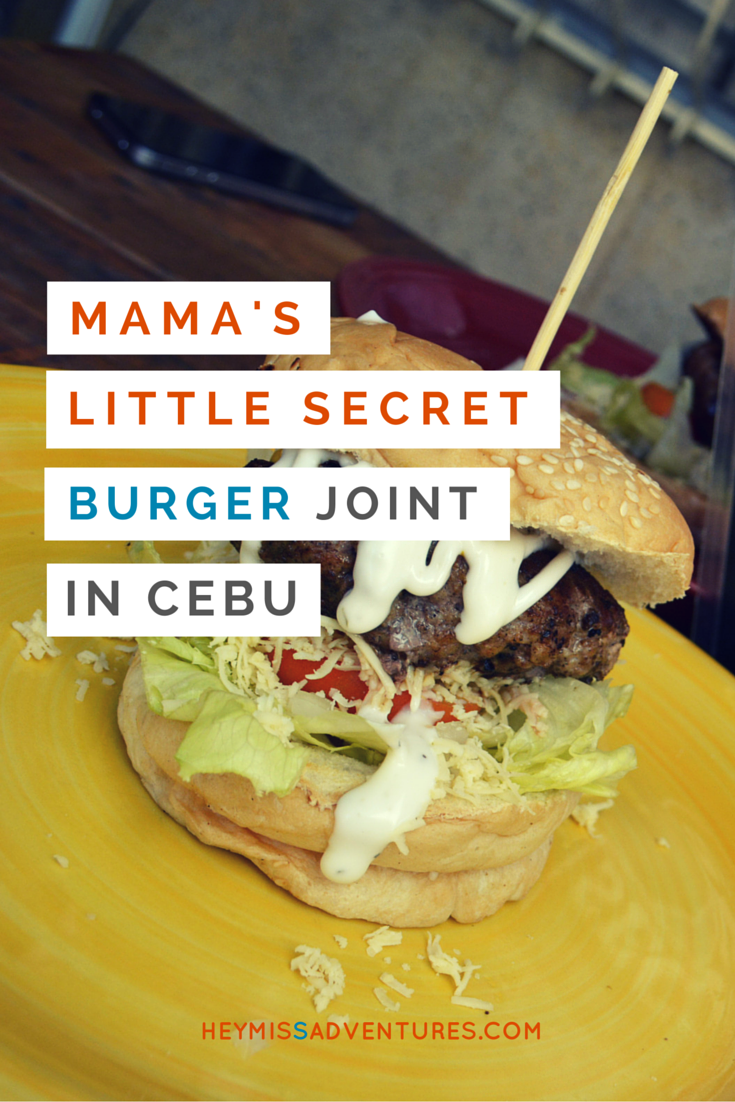 Mama's Little Secret Burger Joint in Cebu