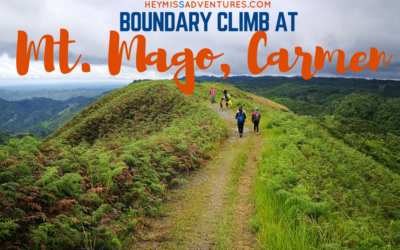Mount Mago: Boundary Climb (Danao, Carmen and Tuburan) with Kids