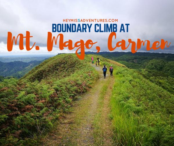 Mount Mago: The Boundary Climb (Danao, Carmen and Tuburan) | Hey, Miss Adventures!
