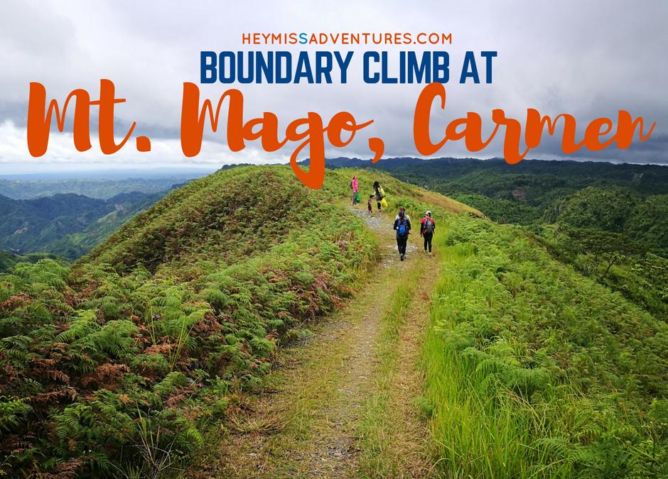 Mount Mago: Boundary Climb (Danao, Carmen and Tuburan) with Kids
