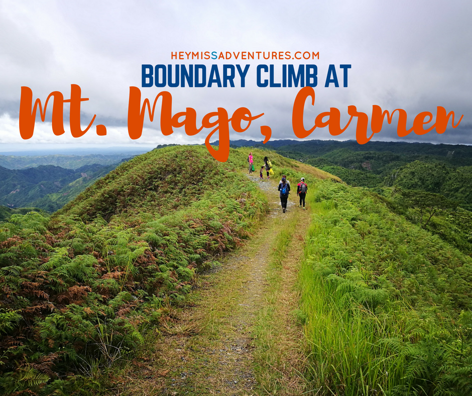 MOUNT MAGO: BOUNDARY CLIMB (DANAO, CARMEN AND TUBURAN) WITH KIDS || heymissadventures.com