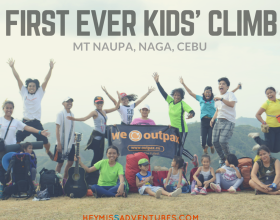 Get Kids Outside: The First Ever Kids Climb at Mt Naupa
