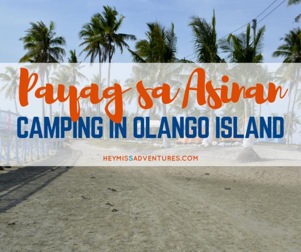Payag sa Asinan Eco-Tourism Park: Camping at Olango Island || heymissadventures.com