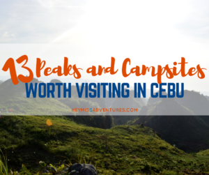 13 Must-Visit Mountain Peaks and Camp Sites in Cebu