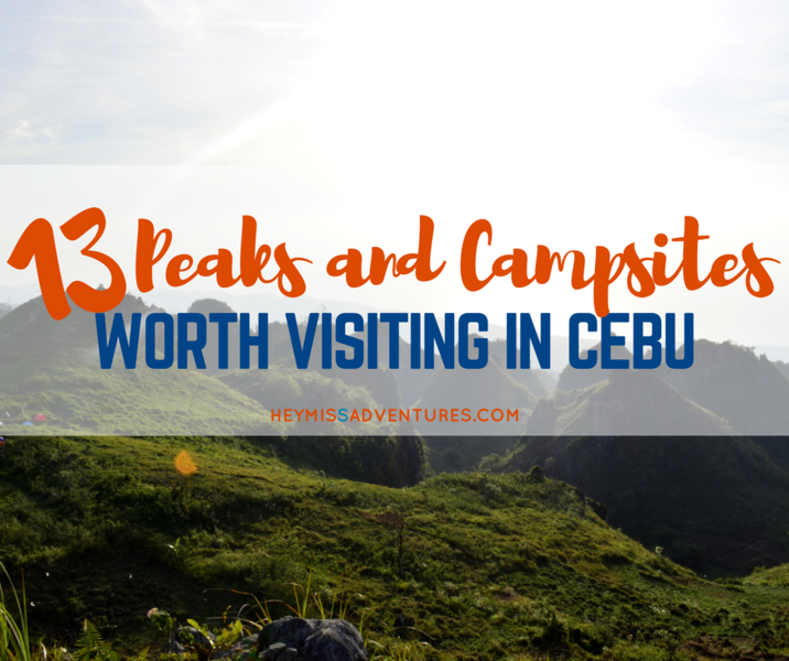 13 Must-Visit Mountain Peaks and Camp Sites in Cebu