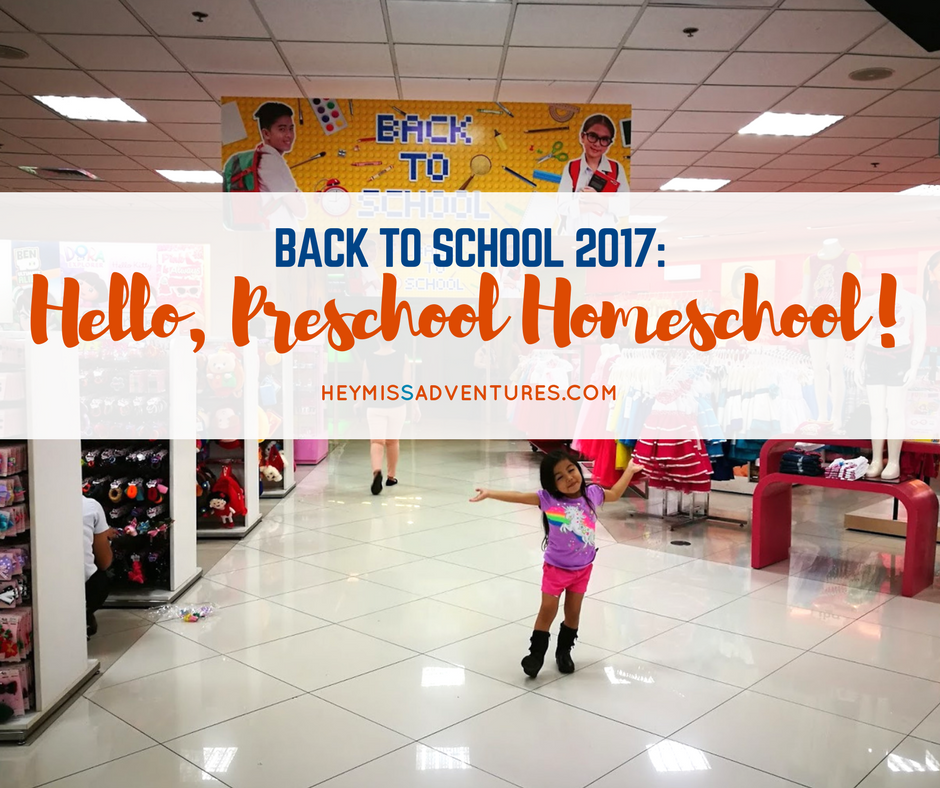 Back to School: Hello, Preschool Homeschool!
