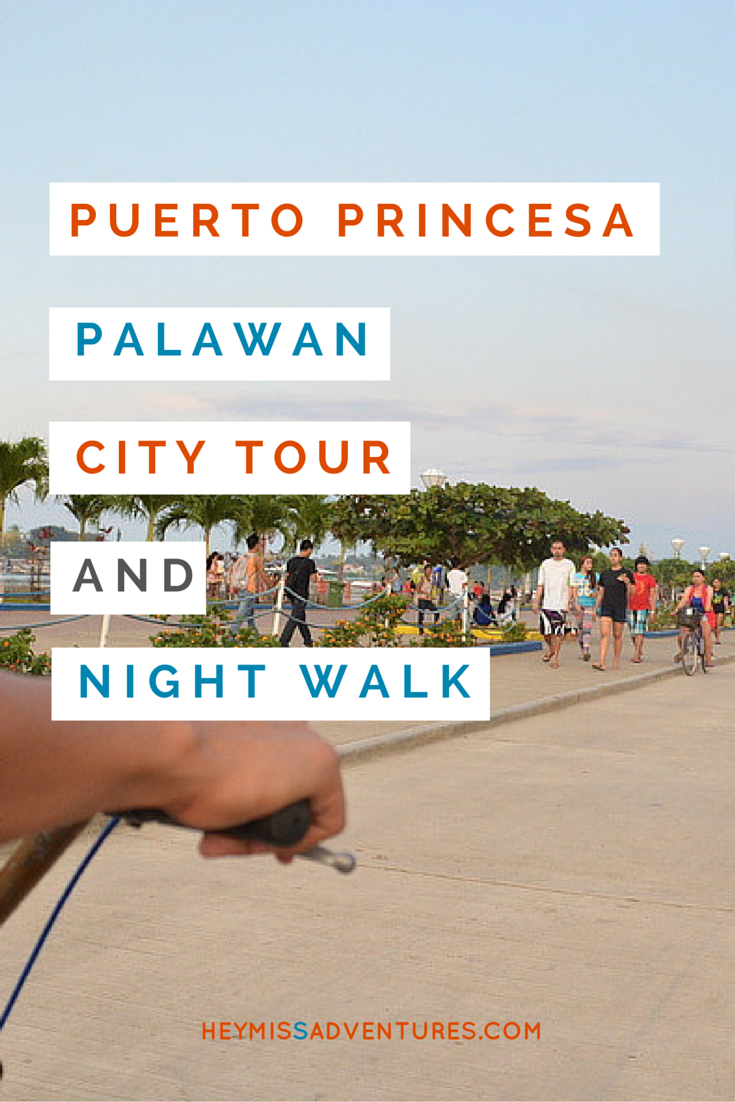 Puerto Princesa City Tour and Night Walk