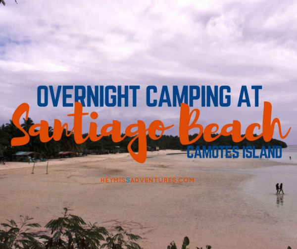 Weekend Escape: Overnight Camping at Santiago Beach, Camotes Island | Hey, Miss Adventures!