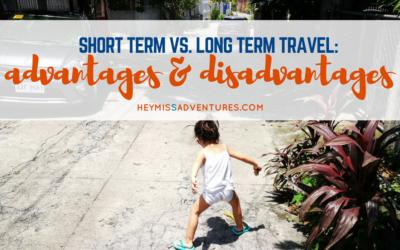Short Term vs. Long Term Travel: Advantages and Disadvantages