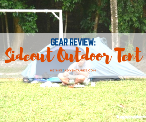 Review: Sideout Outdoor 2-Person Tadpole Tent