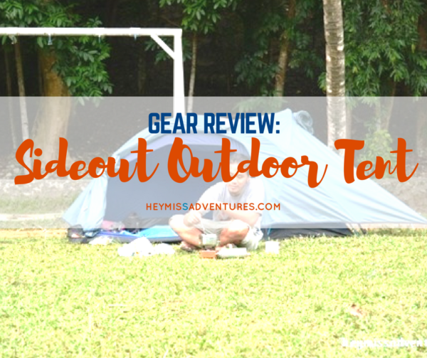 Review: Sideout Outdoor 2-Person Tadpole Tent | Hey, Miss Adventures!