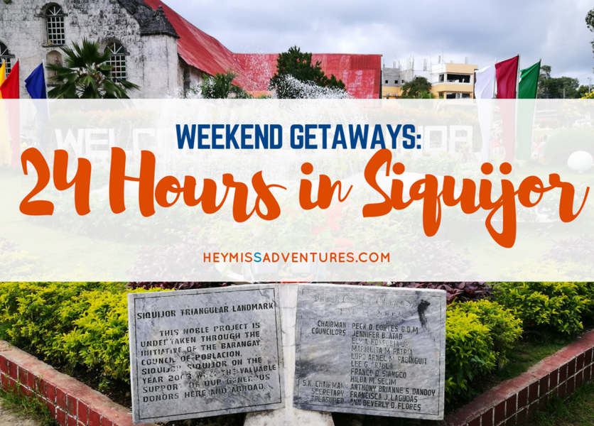 Exploring Siquijor in 24 Hours