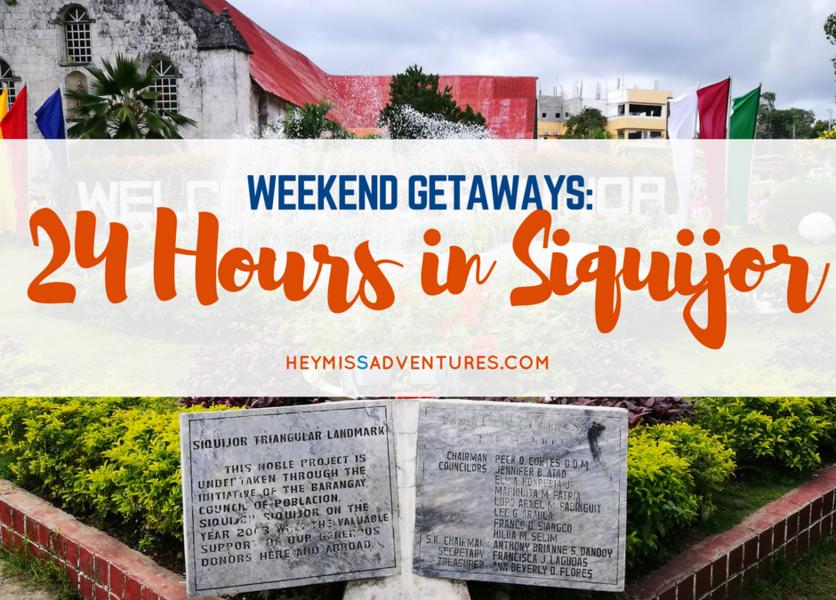 Exploring Siquijor in 24 Hours