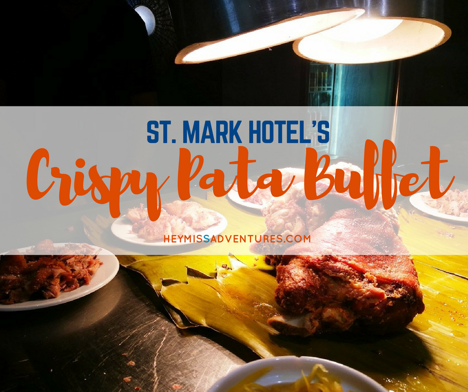 St. Mark Hotels' Sumptuous Crispy Pata Buffet