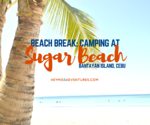 Beach Break: Sugar Beach, Bantayan, Cebu
