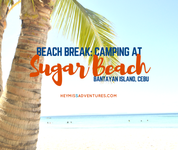 Beach Break: Sugar Beach, Bantayan, Cebu || heymissadventures.com